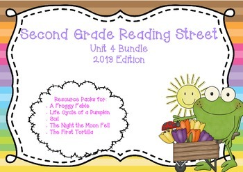 Reading Street Second Grade Unit 4 Resource Bundle