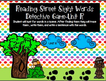 Reading Street Sight Word Game for Sam