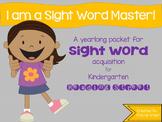 Reading Street Sight Word Mastery Packet! (Kindergarten)
