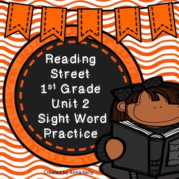 Reading Street Sight Word Practice Unit 2