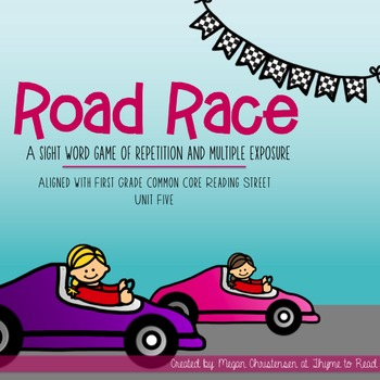 Reading Street Sight Word Road Race Game - Unit 5