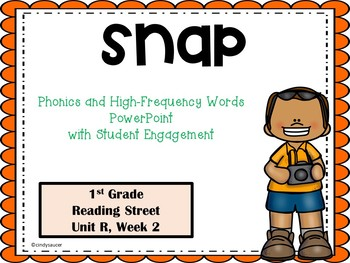 Interactive Powerpoint, Snap, Reading Street Unit R