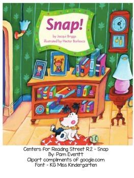 Reading Street - Snap(R.2) printables
