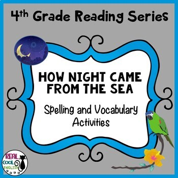 Reading Street Spelling and Vocabulary Activities: How Nig