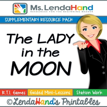 Reading Street, THE LADY IN THE MOON, Teacher Pack by Ms.