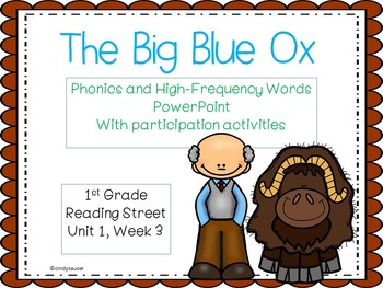 1st Grade Interactive PowerPoint, The Big Blue Ox