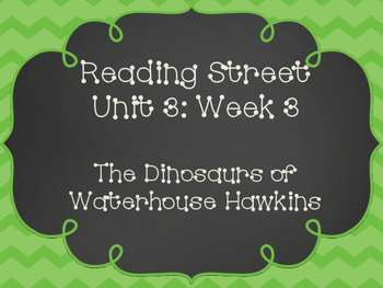 Reading Street: The Dinosaurs of Waterhouse Hawkins Poster