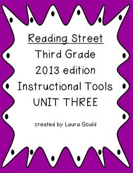 Reading Street - Third Grade - Instruction Tools Unit Three