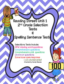 Reading Street Unit 1 2nd grade Selection Tests Common Cor