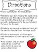 First Grade Reading Street Unit 1 Rotten Apples Sight Word