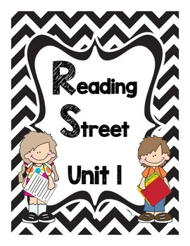Reading Street Unit 1 Story Binder Covers