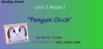 Reading Street Unit 2 Week 1: Penguin Chick