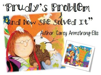 "Reading Street Unit 2 Week 3 Focus Wall ""Prudy's Problem"""