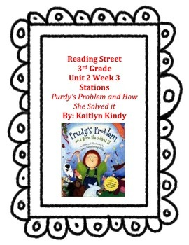 Purdy's Problem and How She Solved It Reading Street Unit