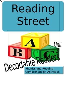 Reading Street Unit 3 Phonics/Comprehension Activities