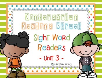 Reading Street Unit 3 Sight Word Readers