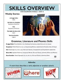 Reading Street Unit 4 Skills Overview - Second Grade
