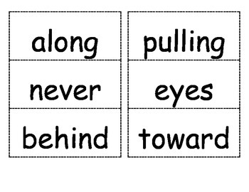 Reading Street Unit 5 Flash Cards for 1st Grade