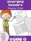 Emerging Readers Unit 5 Fluency Sentences (Aligned to Read