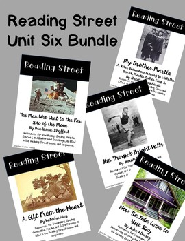 Reading Street Unit Six Bundle