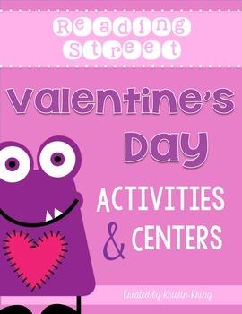 Reading Street Valentine's Day Activities