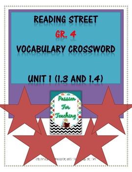Reading Street Vocabulary Crossword 2