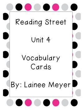 Reading Street Vocabulary Unit 4