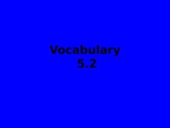 Reading Street Vocabulary flipchart 5.2 Mole and the Baby Bird