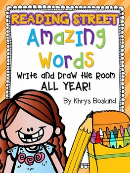 Reading Street {Write and Draw the Room ALL YEAR} {Amazing