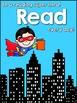 Reading Super Hero Goal Setting Freebie