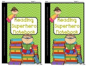 Reading Superhero Notebook {Reading Comprehension- CCS: RI