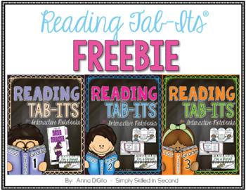 Reading Tab-Its™ FREEBIE for Grades 1, 2, & 3