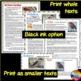 Informational Text and Task Cards BIRD BUNDLE Kookaburra,