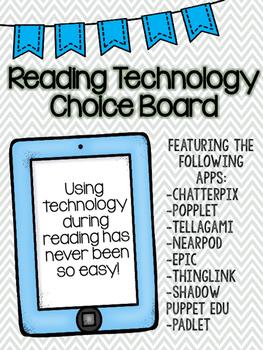 Reading Technology Choice Board