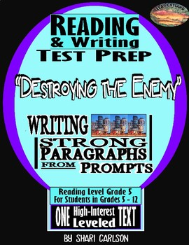 "Reading & Writing Test Prep  1 Hi-Lo Text  ""Destroying the Enemy"""