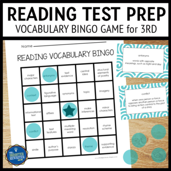 Reading Test Prep 3rd Grade
