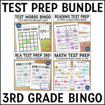 Test Prep Bundle Grade 3
