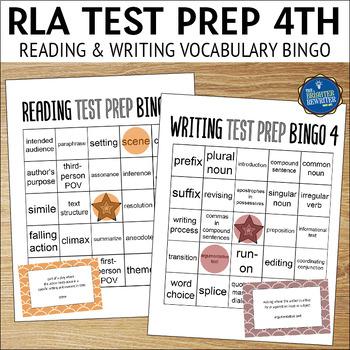 Reading Test Prep Grade 4 Vocabulary