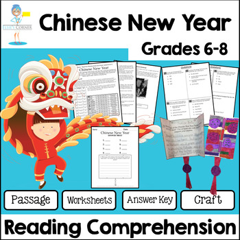 Chinese New Year Reading Comprehension - Informational Tex