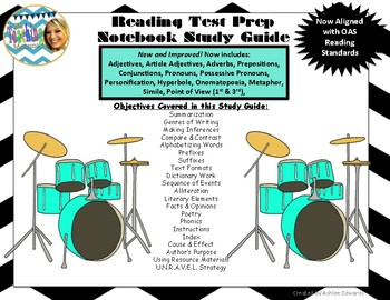 Reading Test Prep Study Guide