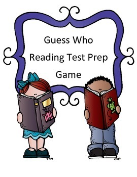 Reading Test Review Game: Guess Who Theme (Fiction Passage)