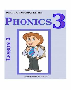 Reading Tutorial Series:Phonics Grade 3 (Student Workbook)