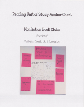 Reading Units of Study If...Then Unit Nonfiction Book Club
