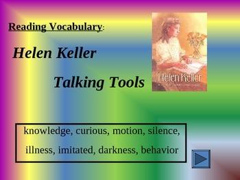Reading Vocabulary Power Point Helen Keller