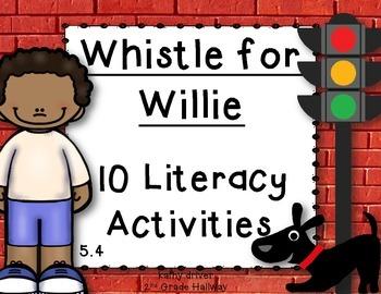 Reading Wonders 1st Grade Whistle for Willie 5.4 {10 Liter