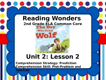 Reading Wonders 2nd Grade Unit 2 Lesson 2