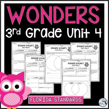 Reading Wonders 3rd Grade Constructed Response Unit 4 - LAFS