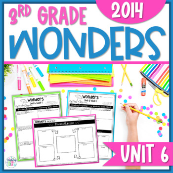Reading Wonders 3rd Grade Constructed Response Unit 6 - Co