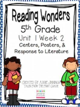 5th Grade Reading Wonders- Unit 1 Week 2