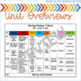 Reading Wonders At a Glance Unit Plans {1st Grade}